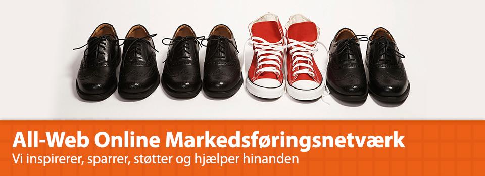 Få dig et online markedsføringsnetværk