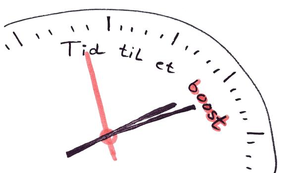 tid til et boost