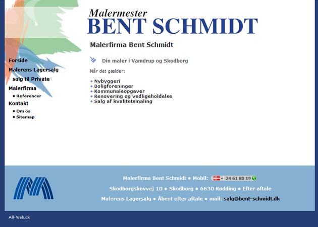 Malermester Bent Schmidt