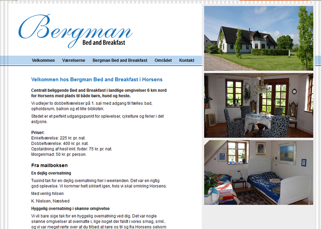 Bergman Bed and Breakfast