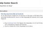 Blog på Facebook