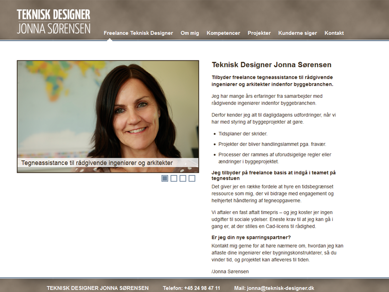 Teknisk Designer Jonna Sørensen