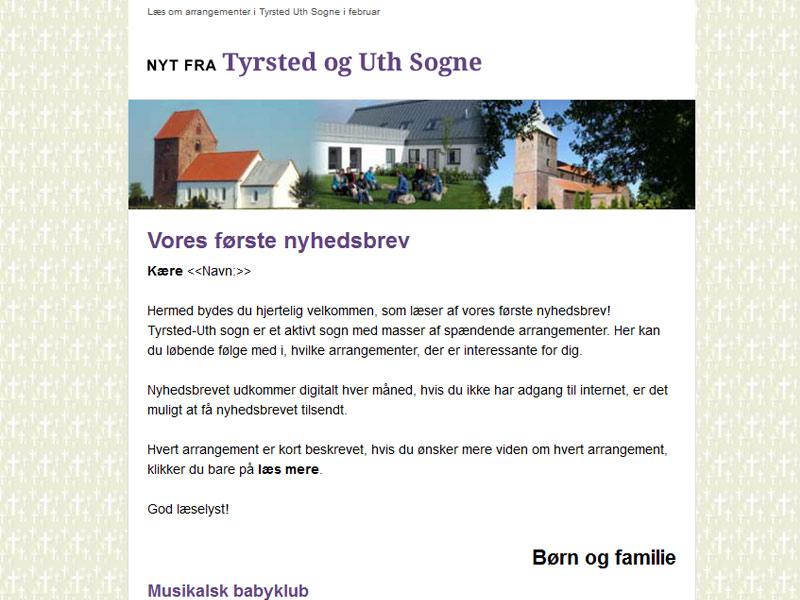 Tyrsted Uth Sognes nyhedsbrev