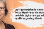 Britta Grove - udtalelse