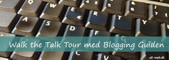 Walk the Talk Tour med Blogging Guiden